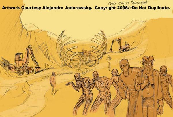 Jodorowsky King Shot concept art