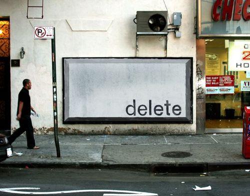 street advertising take over