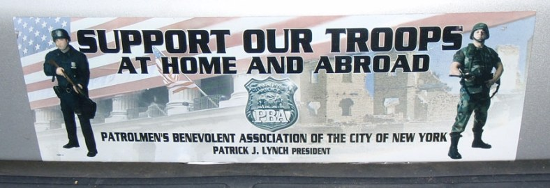 support our troops at home and abroad