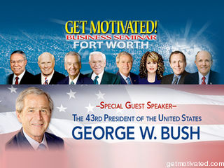 get motivated! with george w. bush