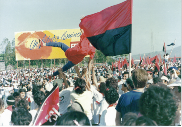 10th anniversary of the Nicaraguan revolution