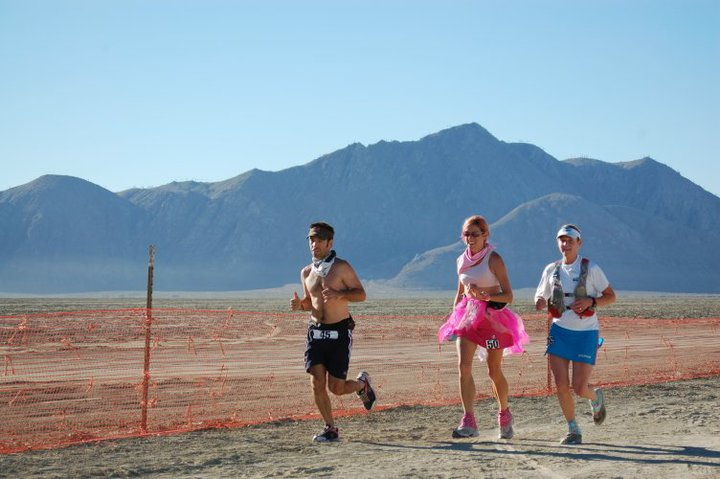 Burning Man ultramarathon