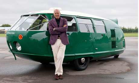 Norman Foster and his Dymaxion Car