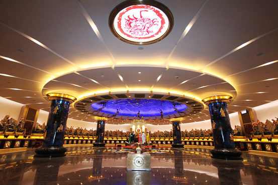 Wong Tai Sin's new prayer hall