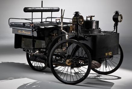 steam powered car