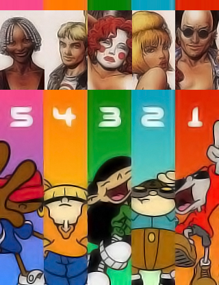 Codename Kids Next Door = The Invisibles