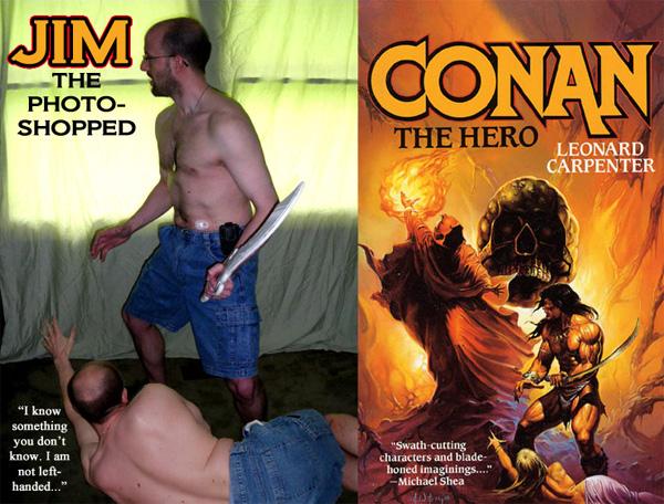 Jim C. Hines as Conan
