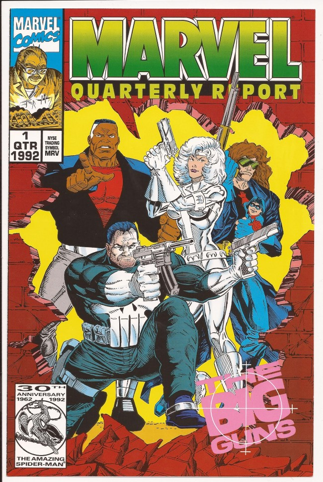Marvel Quarterly Report issue 1 Big Guns
