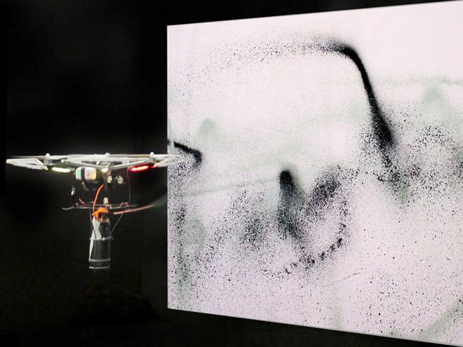 Katsu's Open Source Graffiti Drone
