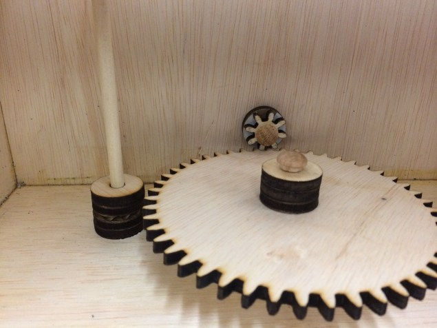 Building the bottom gears