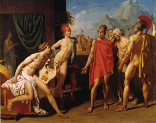 Ambassadors sent by Agamemnon to urge Achilles to fight-1801