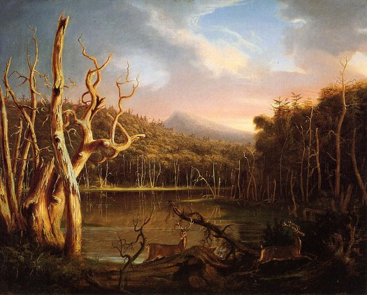 Lake With Dead Trees- Catskill- 1825