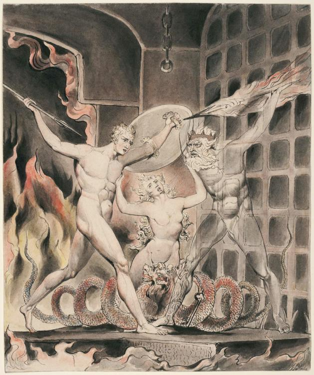 Illustration To Milton's Paradise Lost 1807