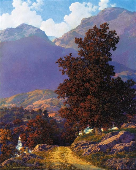 Maxfield Parrish - Road to the Valley - unknown