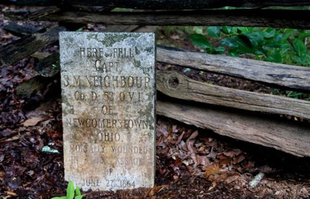 Cheatham Hill gravestone