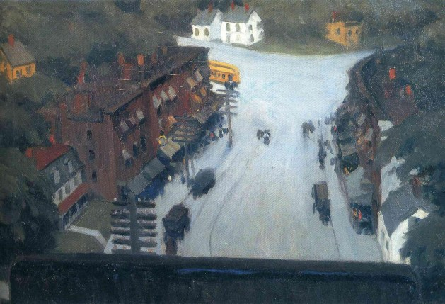 Edward Hopper - American Village - 1912