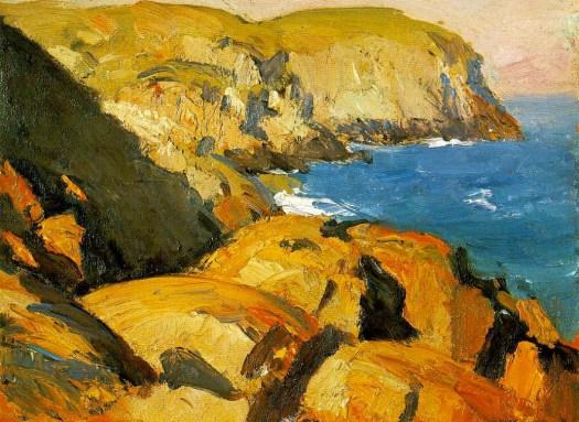 Edward Hopper - Blackhead, Monhegan - 1916-1919