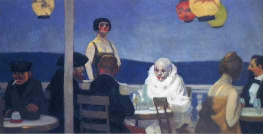 Edward Hopper - Blue Night - 1914