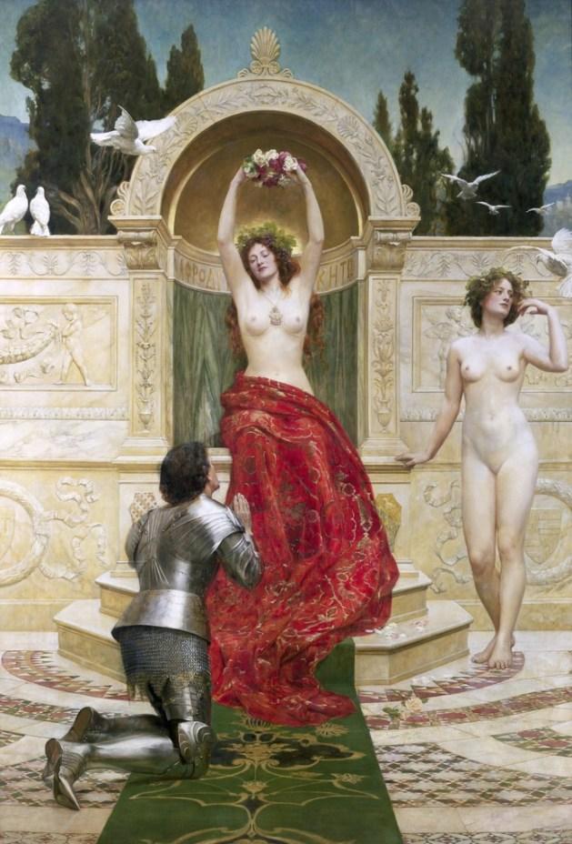 John Collier - Tannhauser in the Venusberg-1901