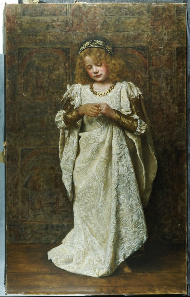 John Collier - The Child Bride -1883