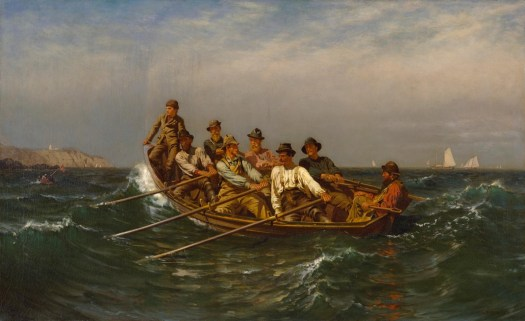 John George Brown - Pull for the Shore
