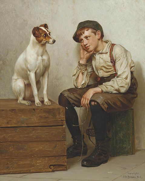 John George Brown - Mutual Admiration