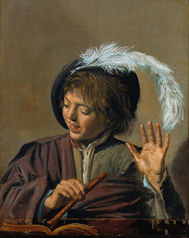 Frans Hals - Singing Boy With Flute