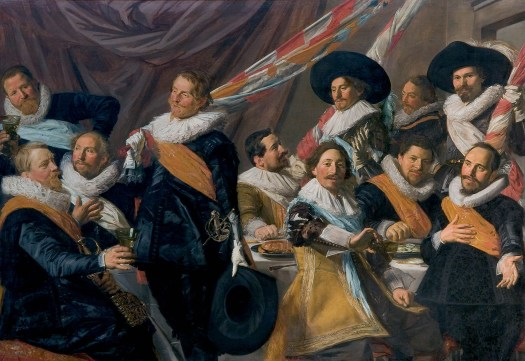 Frans Hals - The Banquet of the Officers of the St George Militia Company 1627