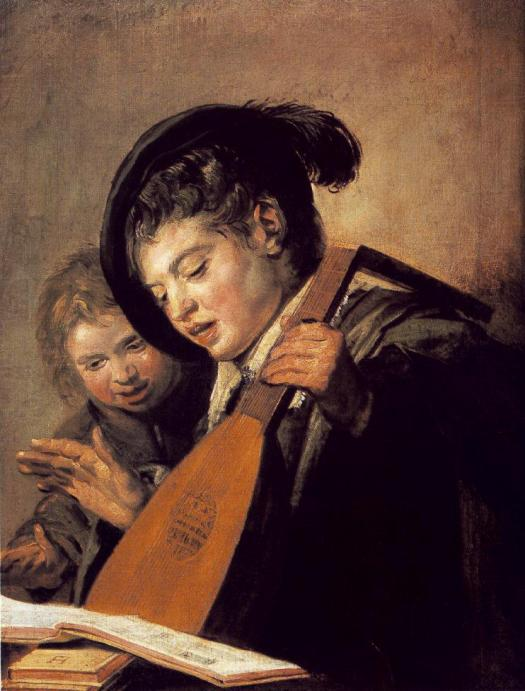 Frans Hals - Two Boys Singing 1625