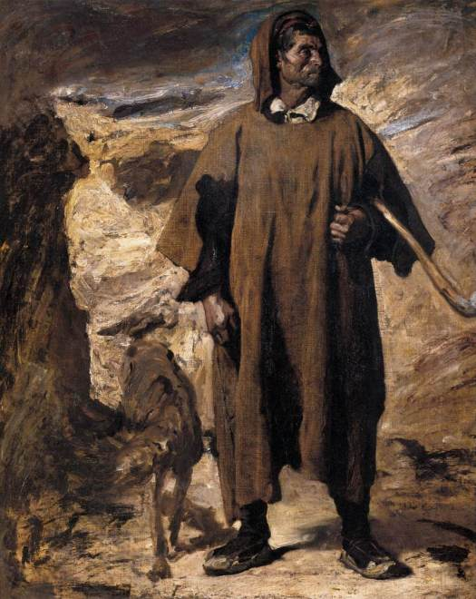 Henri Regnault - Castilian Mountain Shepherd