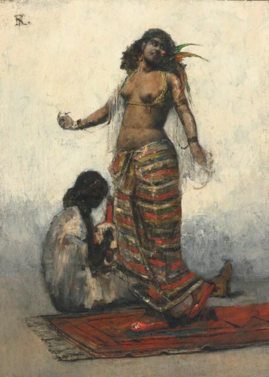 Henri Regnault - Slave Girl