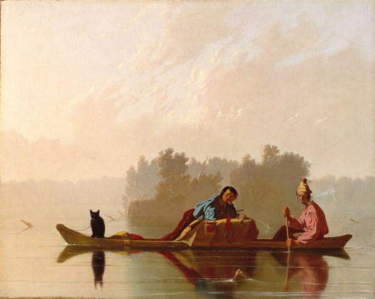 George Caleb Bingham - Fur Traders Descending The Missouri