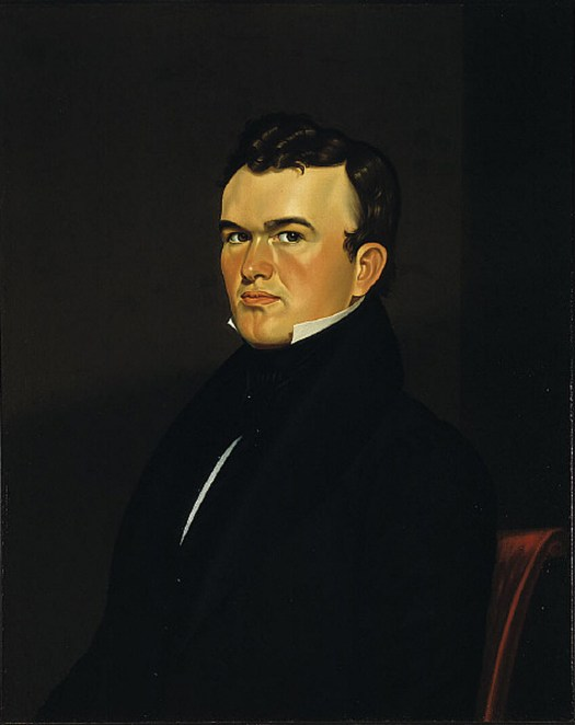 George Caleb Bingham Self-Portrait