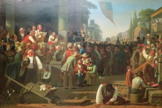George Caleb Bingham-The Verdict of the People -1854-55