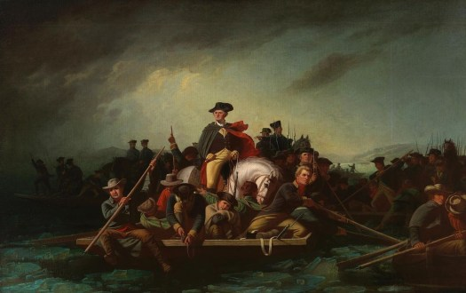 George Caleb Bingham - Washington Crossing The Delaware -1856-71