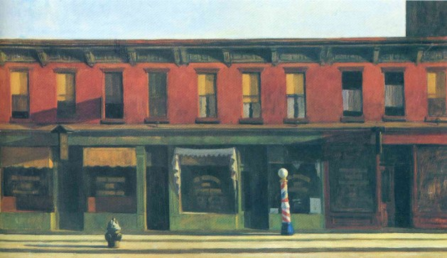 Edward Hopper - Early Sunday Morning - 1930