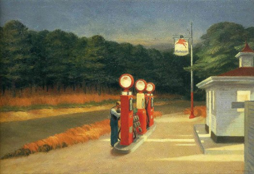 Edward Hopper - Gas - 1940