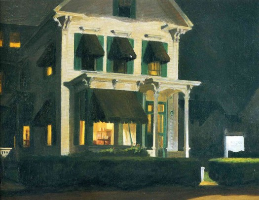 Edward Hopper - Rooms For Tourists - 1945