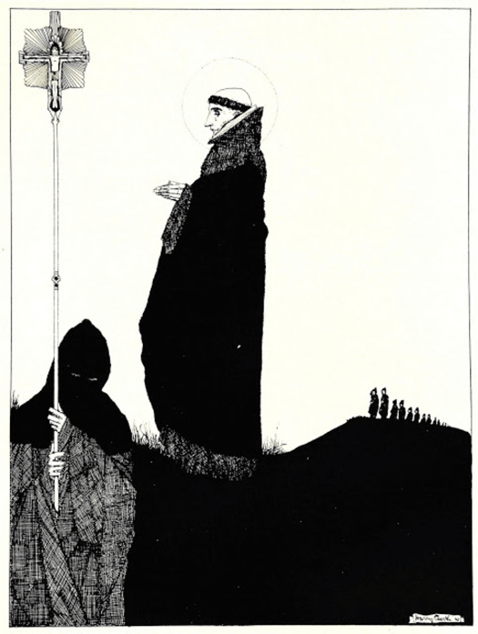 Harry Clarke - The Year's at the Spring 11 - 1920