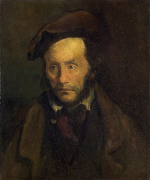 Theodore Gericault - A Kidnapper - 1822-1823