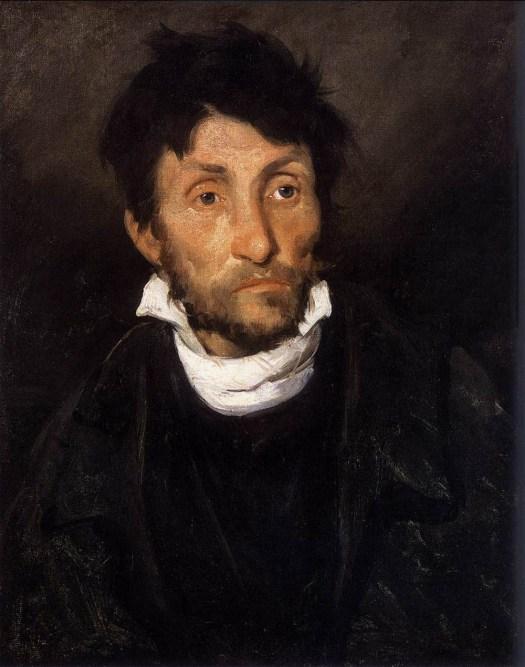 Theodore Gericault - Portrait of a Kleptomaniac - 1822