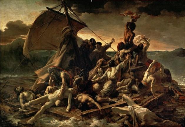 Theodore Gericault - The Raft of the Medusa - 1819