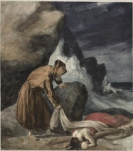 Theodore Gericault - The Tempest - 1821
