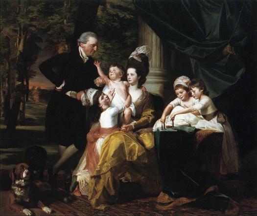 John Singleton Copley - John William Pepperrell and Family - 1778