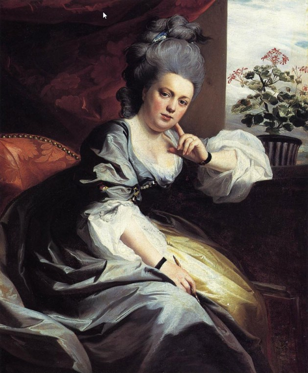 John Singleton Copley - Mrs. Clark Gayton - 1779