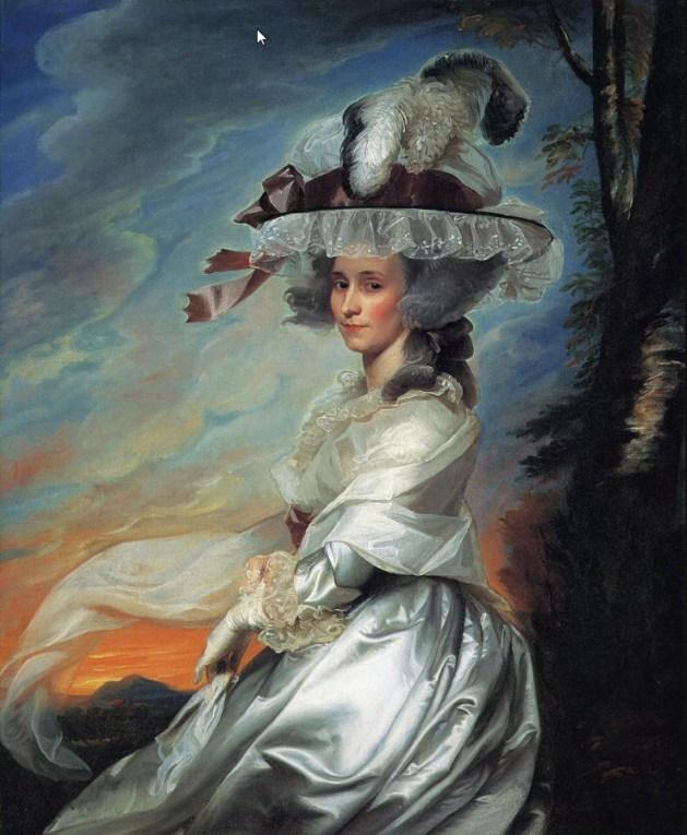 John Singleton Copley - Mrs. Daniel Denison Rogers - 1784