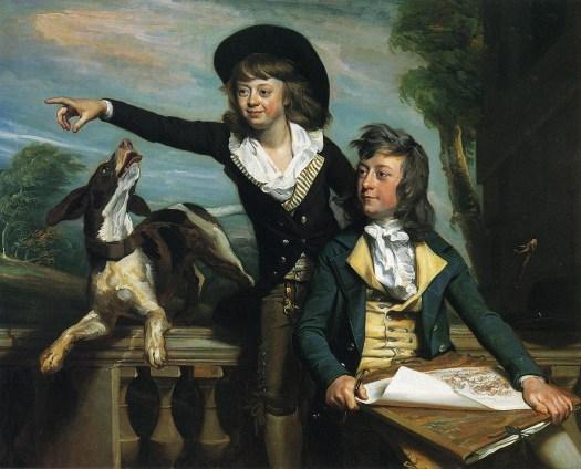 John Singleton Copley - The Western Brothers - 1783