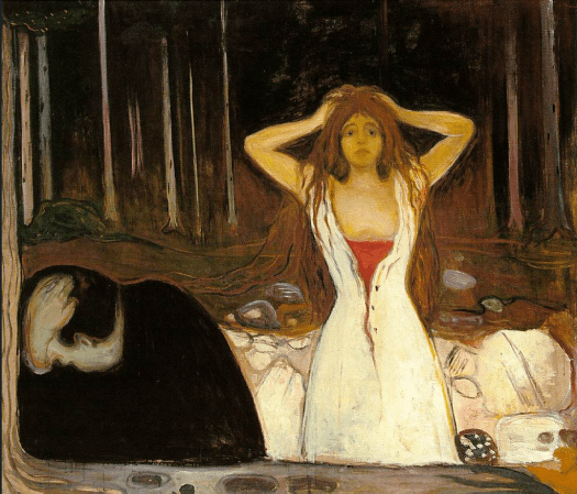 Edvard Munch - Ashes - 1894