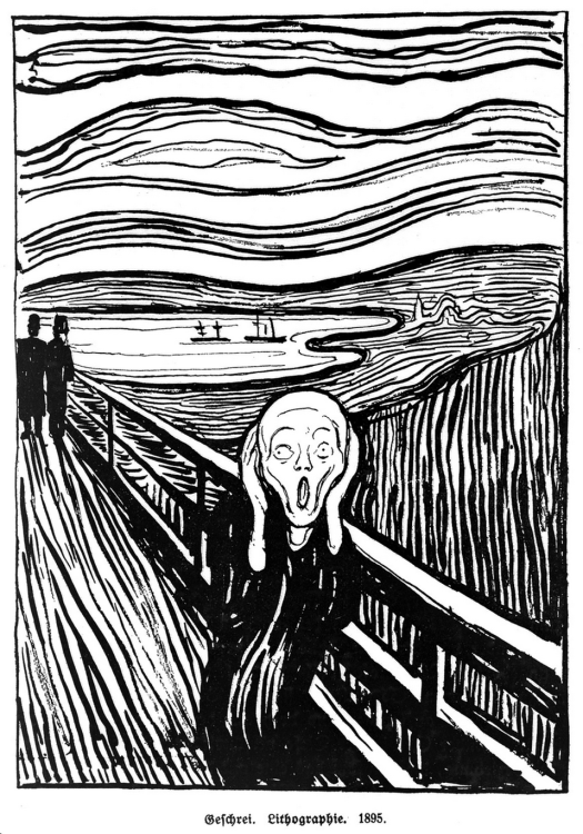 Edvard Munch - The Scream (3) - 1895