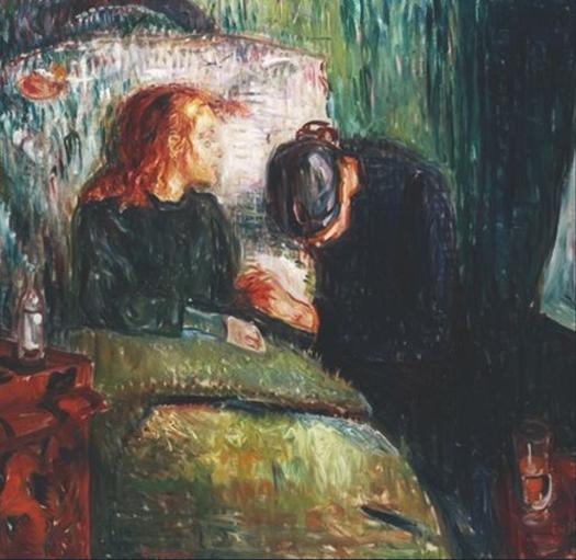 Edvard Munch - The Sick Child - 1907
